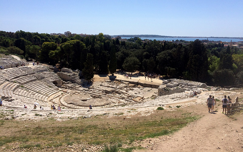 Greek ampitheatre