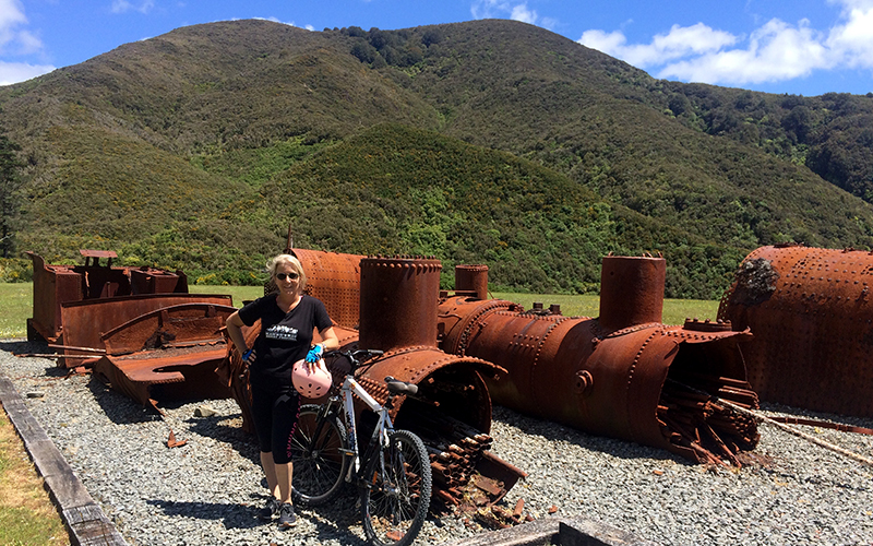 Biking the Rimutaka Rail Trail
