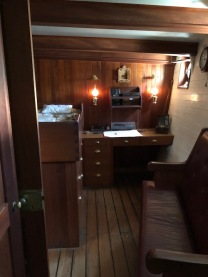 Polly Woodside Captains cabin