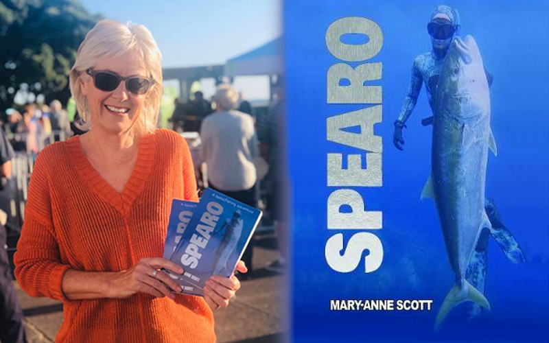 Spearo by Mary-anne Scott