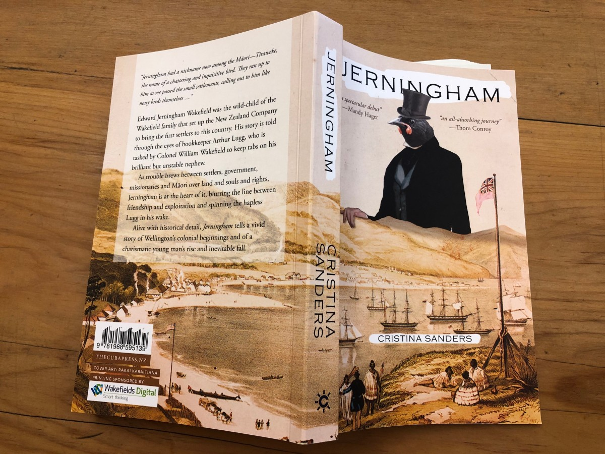 Jerningham the cover by Cristina Sanders