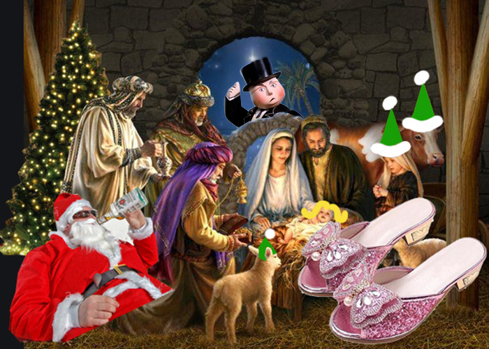 Subversive Christmas Nativity