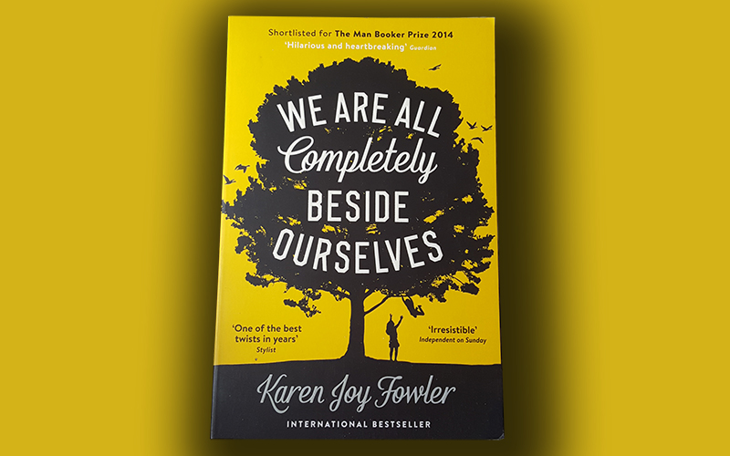 We are all completely beside ourselves—bookreview